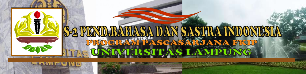 ..:: Official Website : Magister Pend. Bahasa dan Sastra Indonesia