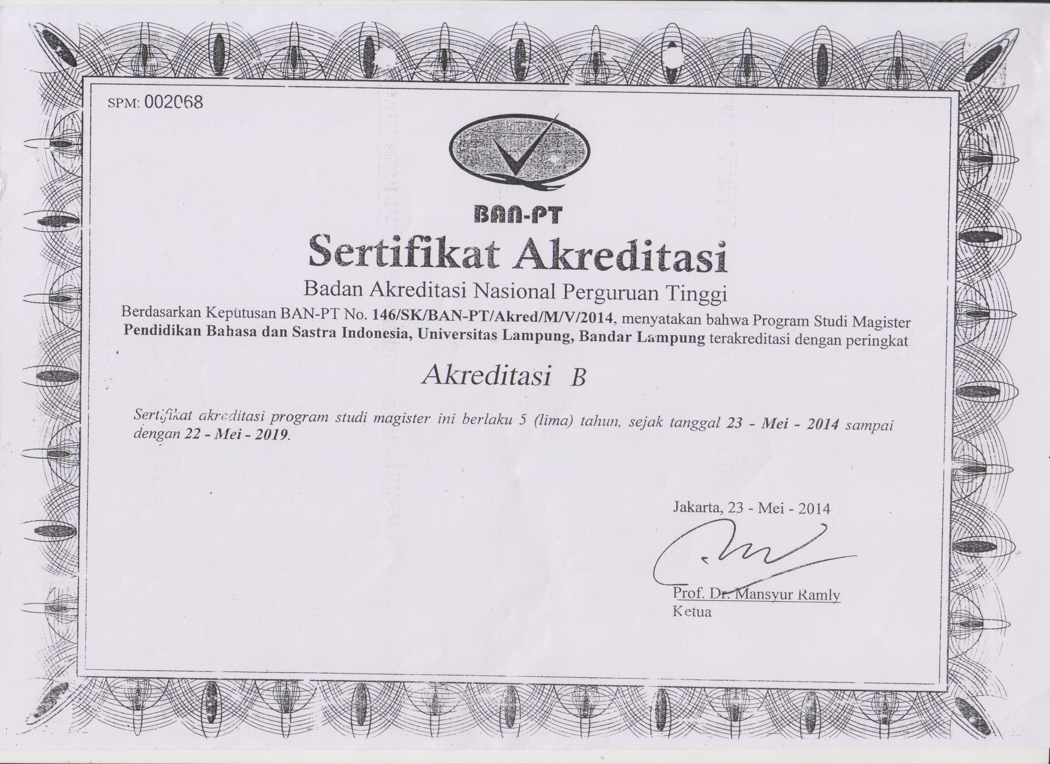 Akreditasi Prodi
